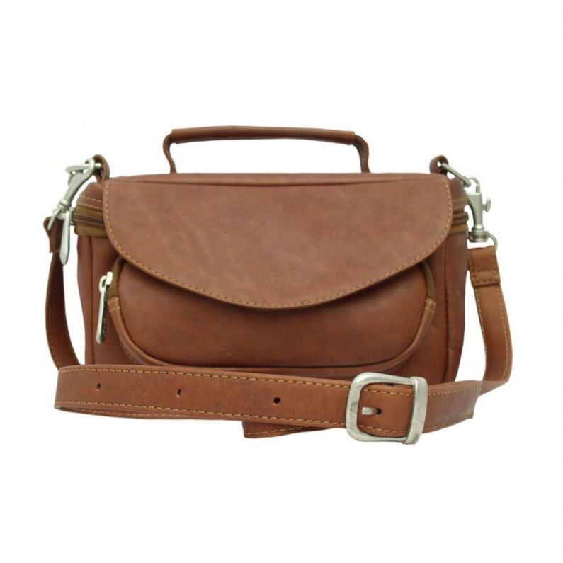 Luxury Leather Belt Camera Bag