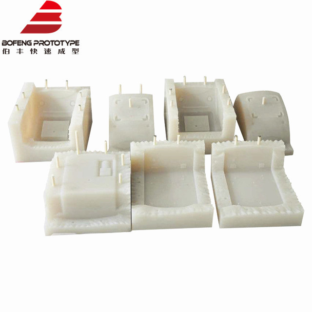 Silicone and Rubber Vacuum Casting Plastic (UV-stable) Rapid Prototype Products