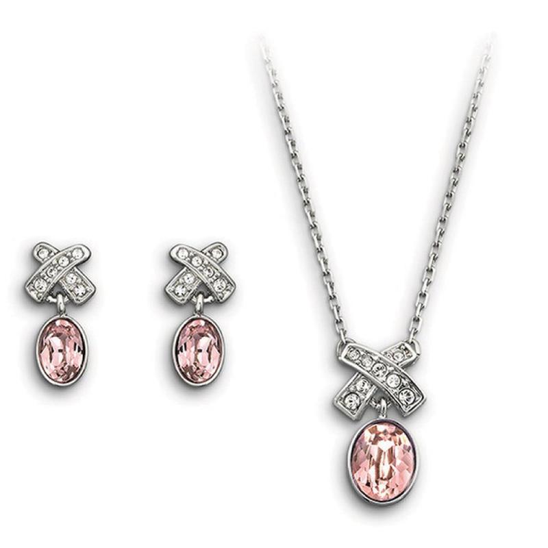 Fashion cz bowknot sterling silver 925 jewelry sets sale