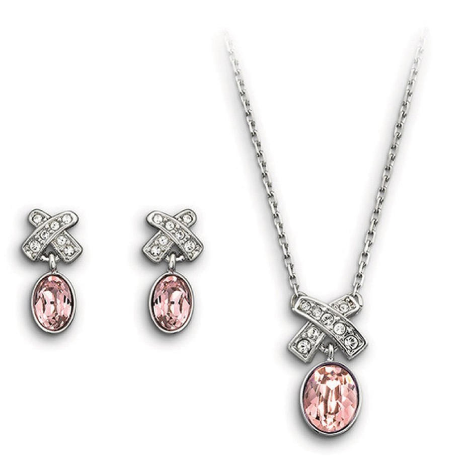 Fashion cz bowknot sterling silver 925 jewelry sets sale