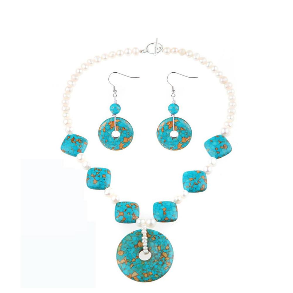 Beauty agate stone fashion design silver 925 jewelry sets