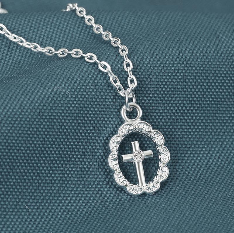 Christian Cross Design Wholesale Titanium Jewelry Set 2020