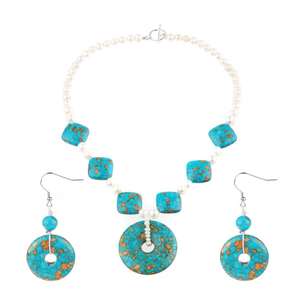Beauty agate stone fashion design silver 925 jewelry sets
