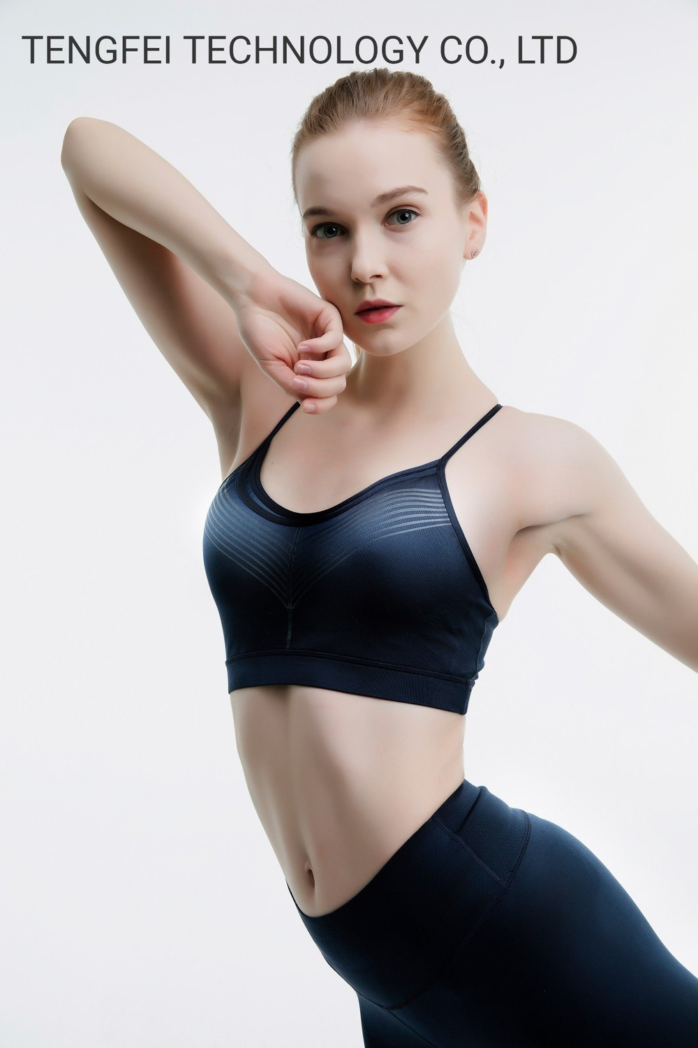 Limax Leisure and Compressive Slimming Yoga Gym Sports Bra and Legging Suit