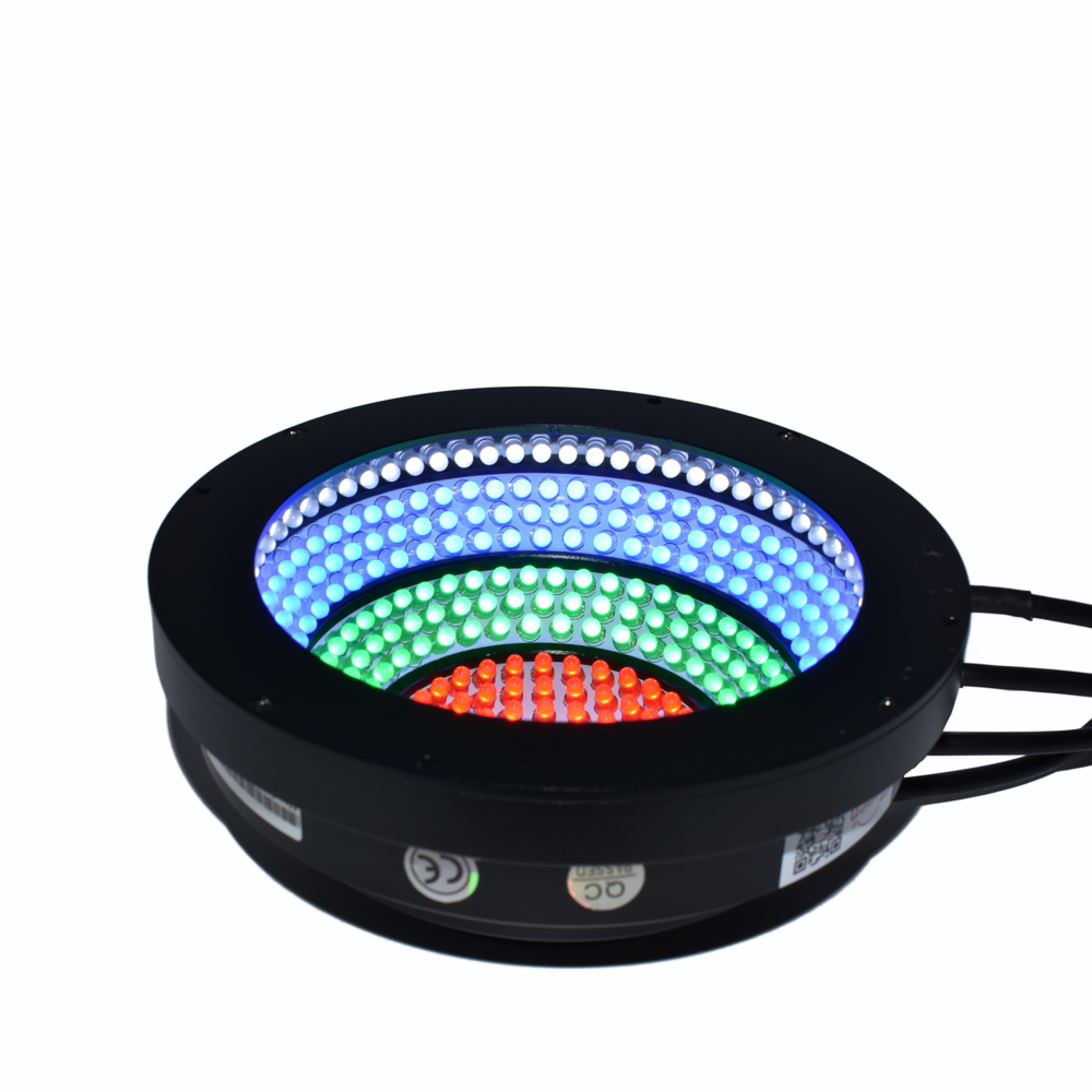 FG RGBW 7 Colors Machine Vision LED AOI Light for Industrial Multi-color Recognition