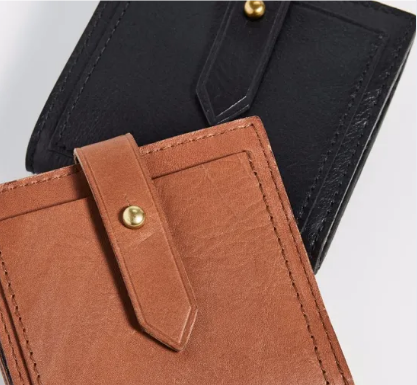 Wholesale New Style PU Short Wallets Unisex Purse With Coin Pocket