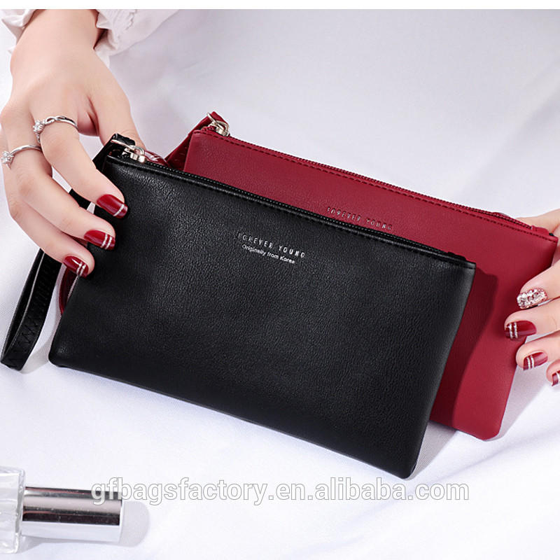 2019 Fashion Long Wallet PU Leather Women Wallets clutch Bag Fashion Women's Purse