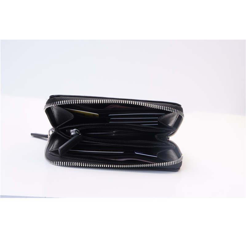 Maison Fabre 2019 New men wallet leather brand Women Coin purse zipper Travel case Card Holder clutch small Wallet men Card Bag