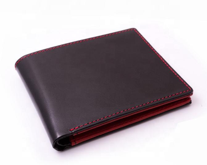 New Men's Genuine PU Wallet Short Bi-fold Horizontal Style Wallet For Men