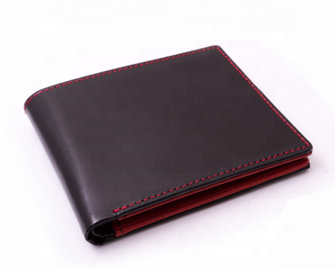 New Men's Genuine PU Wallet Short Bi-fold Horizontal Style Wallet For Men