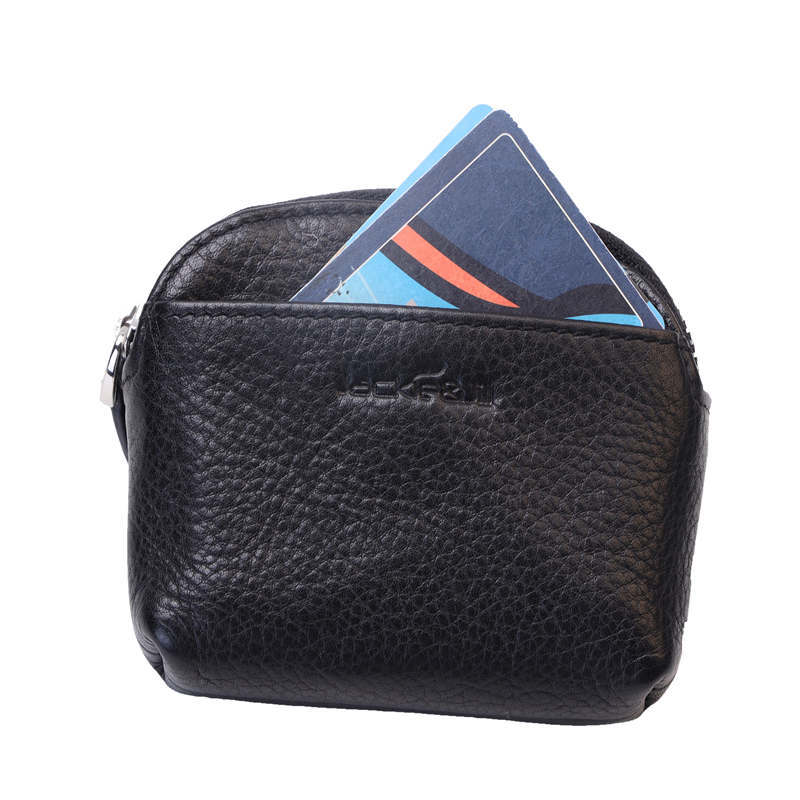 Mini Classical Wallet Purse Brand Designer Zipper Coin Purse Leather Key Bag Unisex Leather Bag Key Chain Purse and Wallet Coin