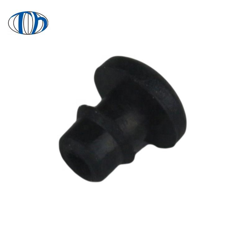 High quality custom silicone rubber button pen cap for atomizer