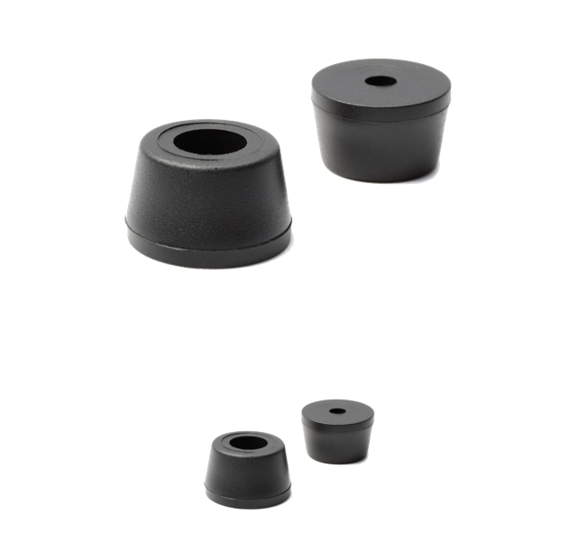 Serviceable Oem Rubber Furniture Bumper Feet For Chair