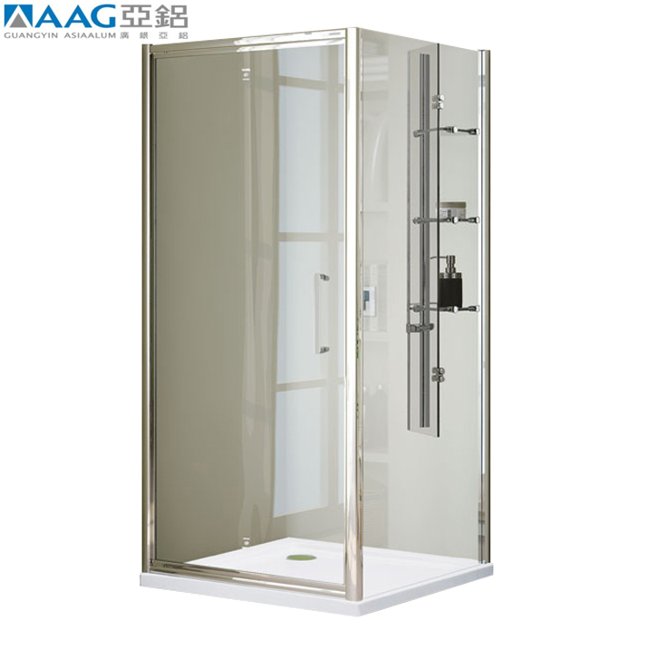 simple painting aluminum shower frame luxurious for screen