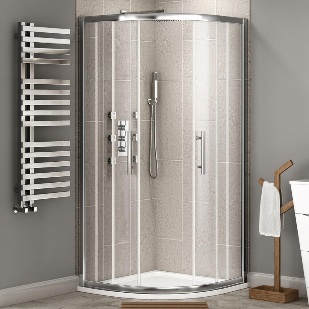 Quadrant 6463 aluminum frame glass shower cubicle