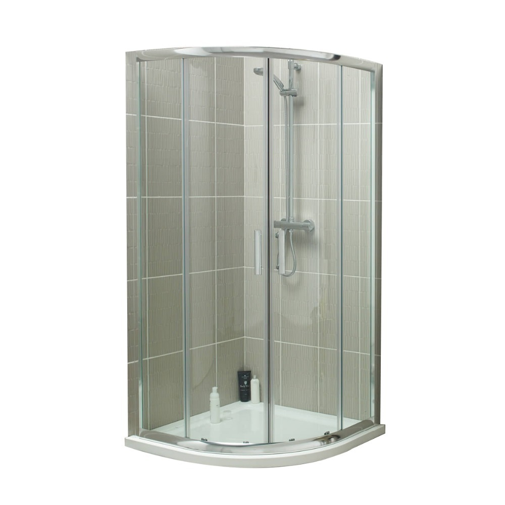 2019 new style frosted tempered glass shower enclosure