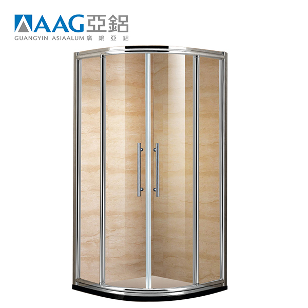 High qualitystanding shower room glass shower enclosure