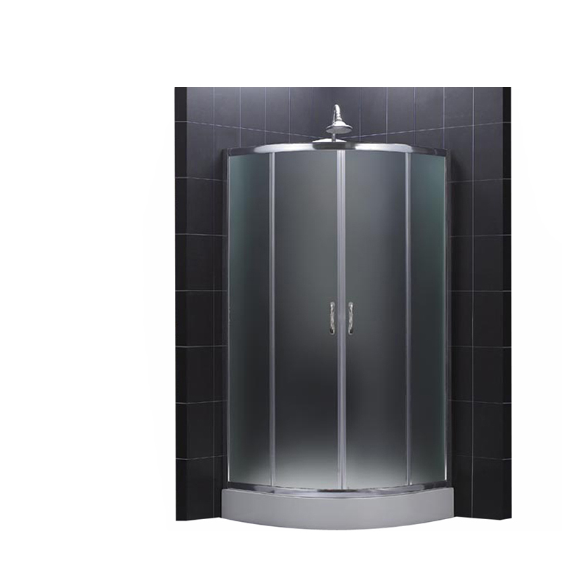 Great Portable Aluminum bathroom round corner shower units and toilet units for room