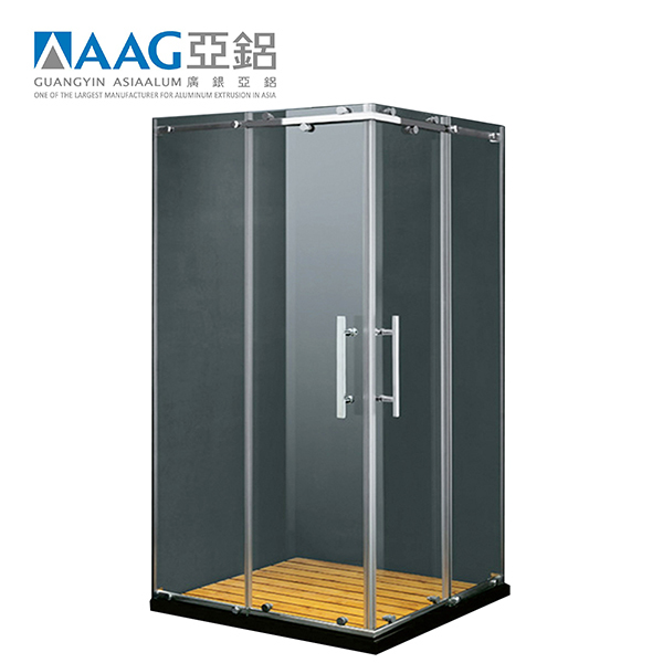 New Design Bathroom Aluminum Frame Shower Enclosure