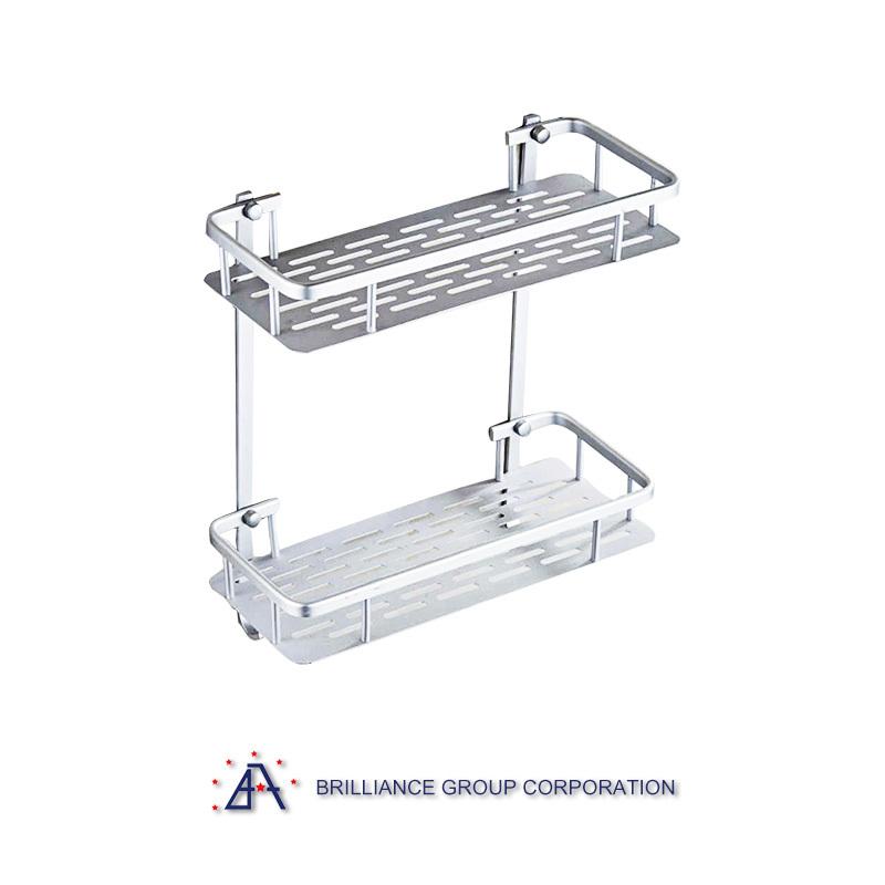 Modern Style aluminium shelf for bathroom room
