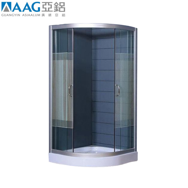 Hot sale Chinese manufacturer portable glass hotel enclosed shower cubicle