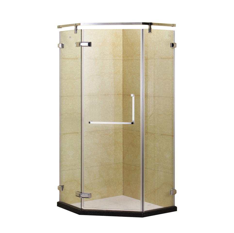 Customized shower aluminum extrusions,aluminum ready made shower room