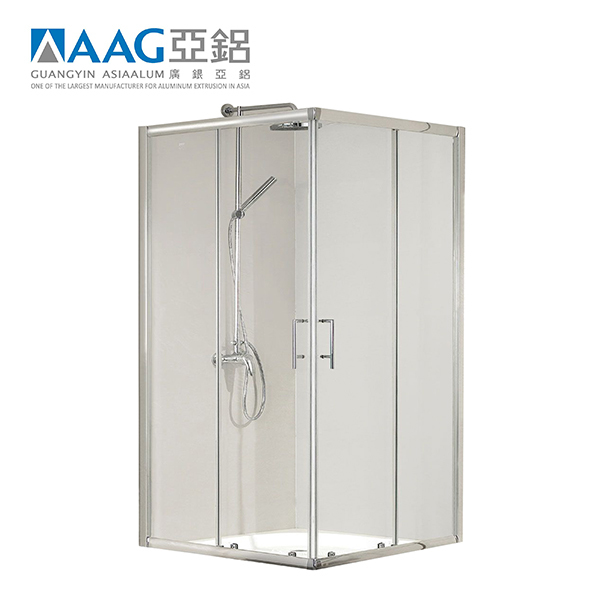 Foshan roller sliding showerbathroom screen