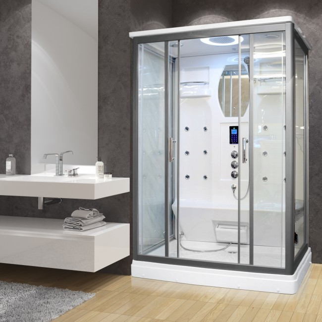Aluminum Frame Sliding Door Shower Room,Shower Enclosure