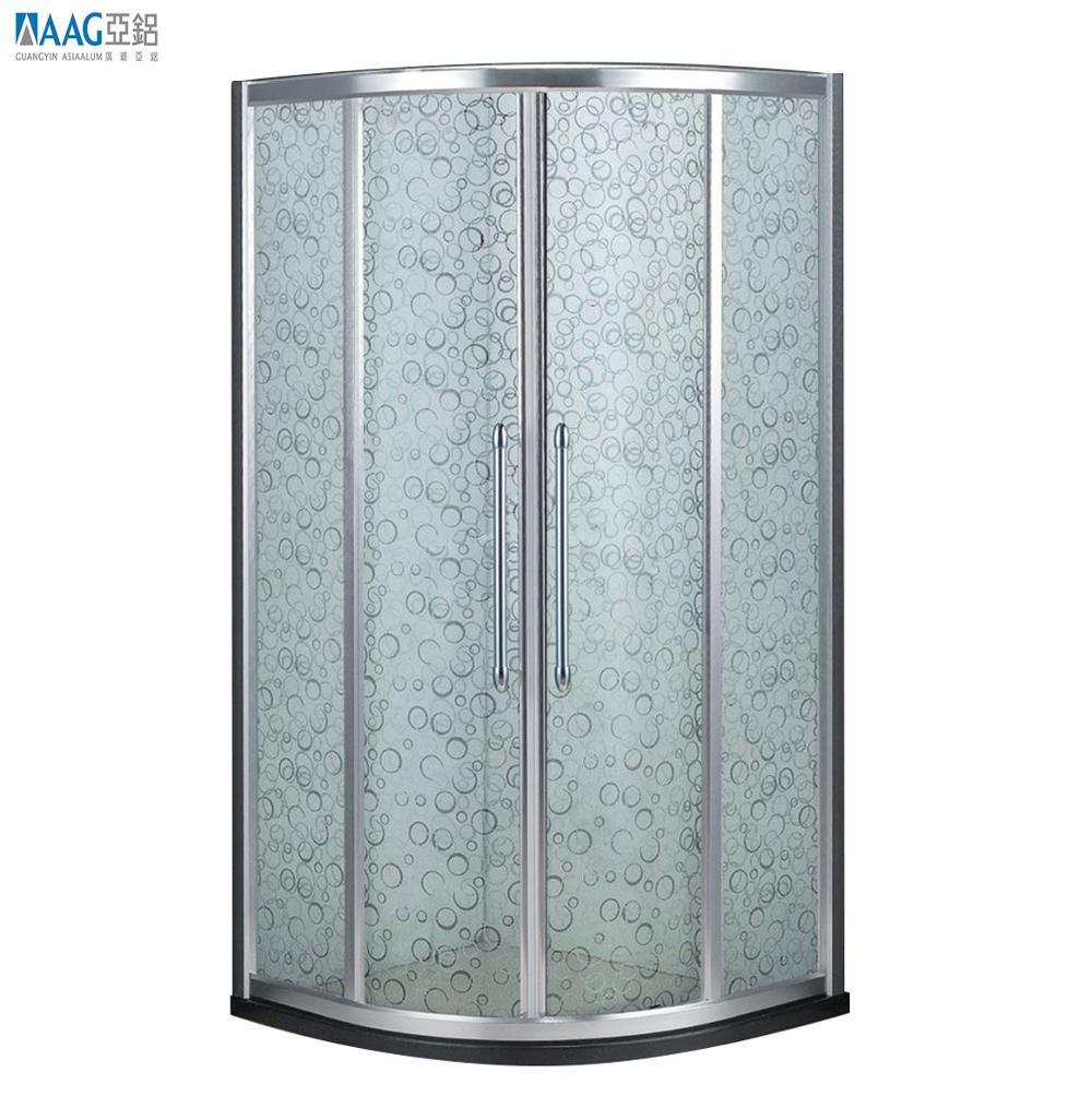 Hot Sale Aluminum Shower Glass Door,Aluminum Shower Enclosure