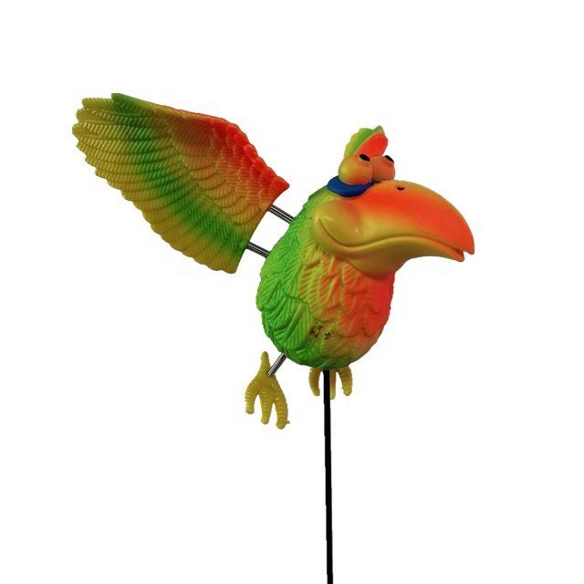 product-Osgoodway Hot Sale Wholesale Bird Toy Cute Parrot funny Bird ornament garden decor-Osgoodway-1