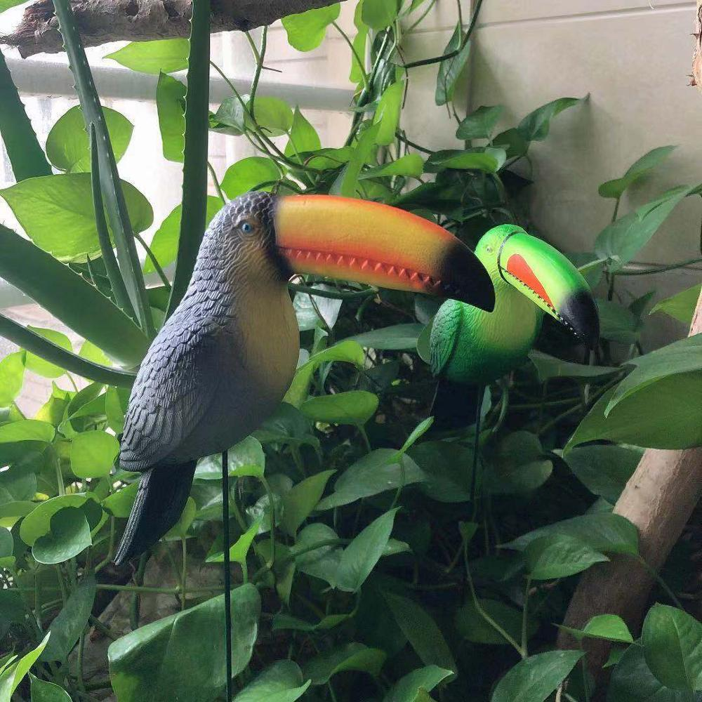 product-Osgoodway China Wholesale High Quality Small Toucan Bird Metal Garden Ornament Hylaea Animal-1