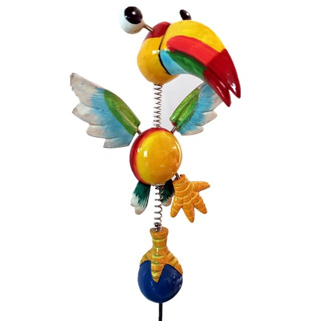 Osgoodway Wholesale High Quality Toy decor cute Parrot animal Garden ornament outdoor for yard decorations