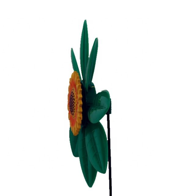 product-Osgoodway Newest design Garden Ornament sunflower Plastic flower fashion decor model flower -1