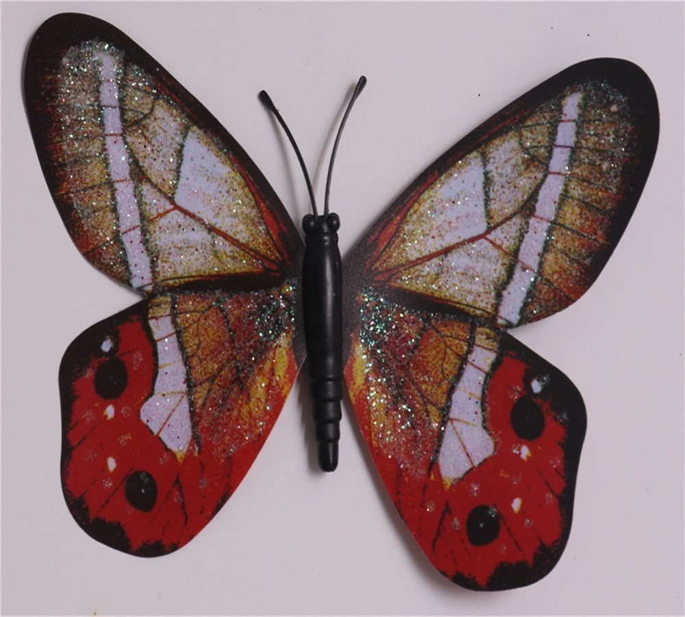 product-colorful butterfly design metal stake garden decoration kl-170903-Osgoodway-img-1