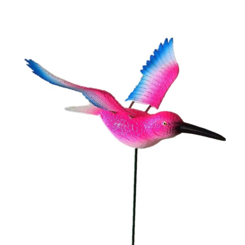 product-Osgoodway-Osgoodway New Products Wholesale Pink Hummingbird Flying Bird Plastic Garden Ornam