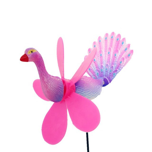 product-Osgoodway-Osgoodway New Products customized garden ornament windmill multicolor Cartoon plas