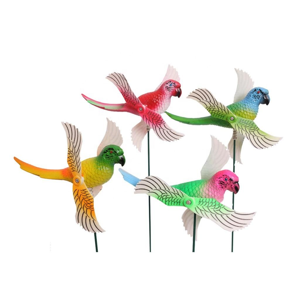 Osgoodway8 KM_151520006 Free Sample Garden Decking Plastic Parrots Moulin A Vent Yard Decor From China Manufacturer