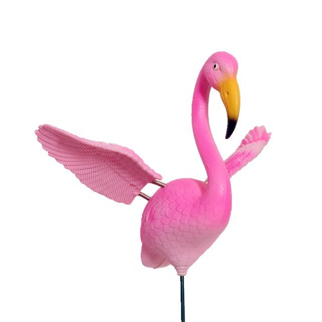 product-Osgoodway New Products Hot Sale Private Design DIY Logo Model Bird Toy Pink Garden Ornament -1