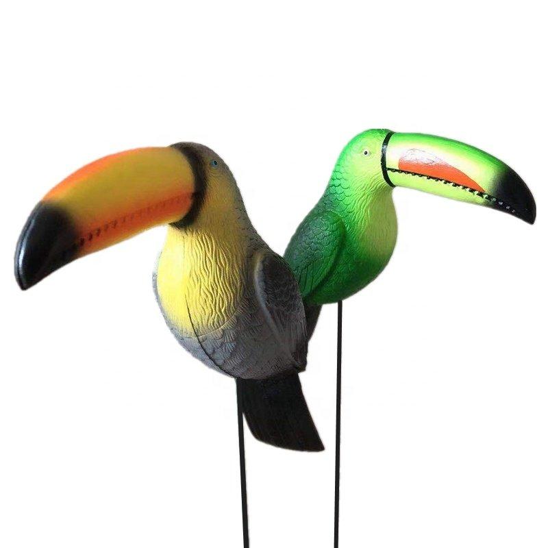 Osgoodway China Factory Wholesale Hylaea Animal Decor Toucan Bird Funny Garden Ornament