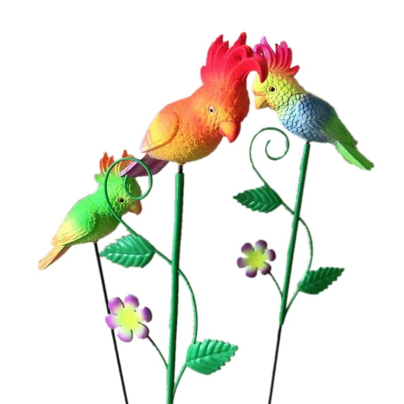 product-Osgoodway-Osgoodway Wholesale High Quality Small Red Parrot Flying BirdAnimal Toys Decor Gar