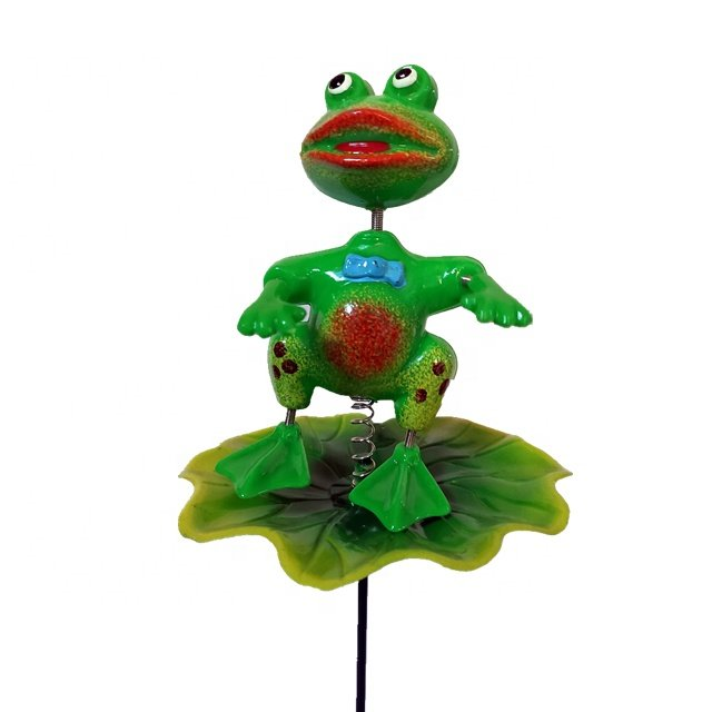 Osgoodway New Products cute Frog Toy funny animal garden decor outdoor for yard ornament