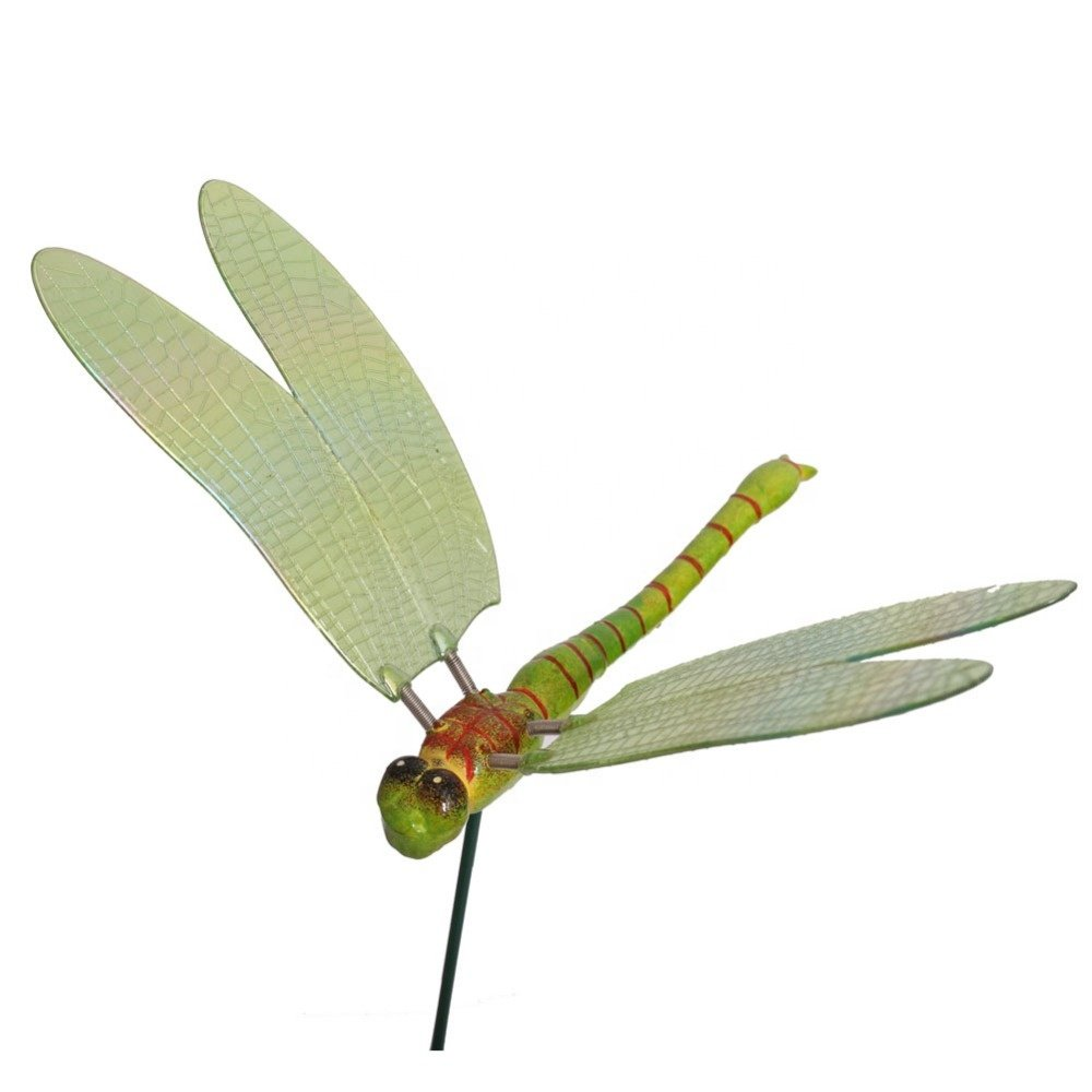 Osgoodway Low price colorful plastic Dragonfly ornaments home decor