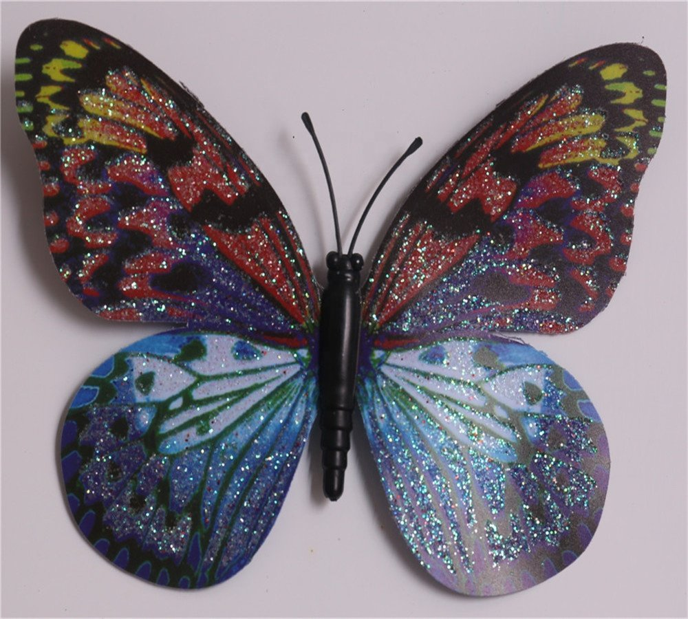 product-Osgoodway-colorful butterfly design metal stake garden decoration kl-170903-img