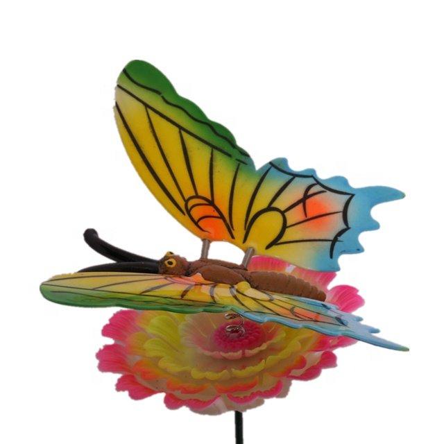 Osgoodway Wholesalehigh qualityPlastic Butterfly Garden StakesFlower Garden Decor