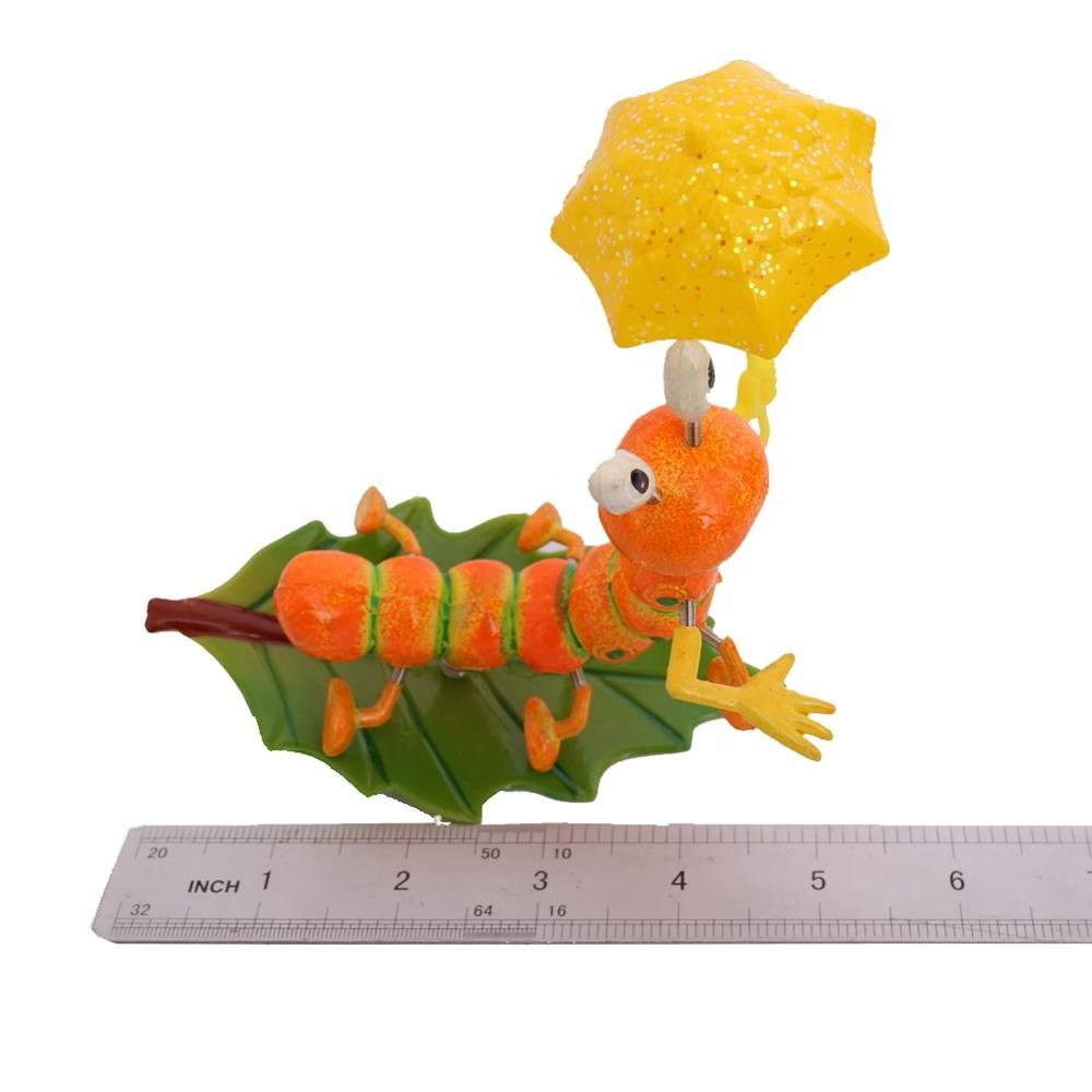 product-Osgoodway8 KM_16170002 Professional Plastic Garden stake Cute Cartoon Artificial Insect Leaf-1