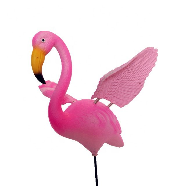 product-Osgoodway-Osgoodway New Products Hot Sale Private Design DIY Logo Model Bird Toy Pink Garden
