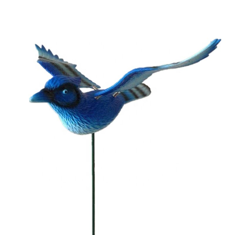 product-Osgoodway-Osgoodway China Factory Wholesale Cute Metal Plastic Blue Flying BirdAnimal Toys O