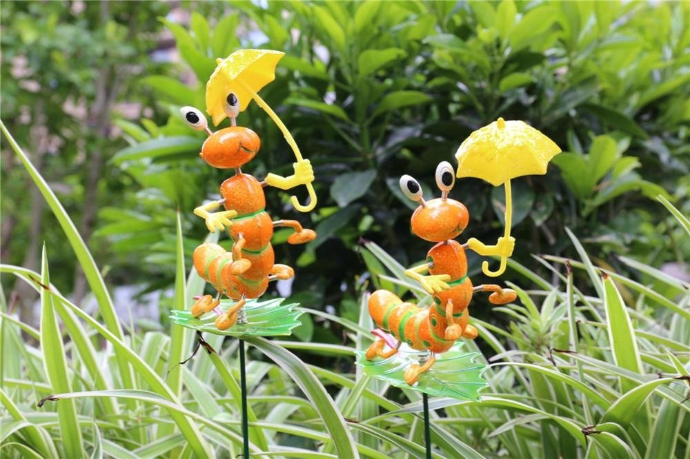product-Osgoodway-Osgoodway8 KM_16170002 Professional Plastic Garden stake Cute Cartoon Artificial I
