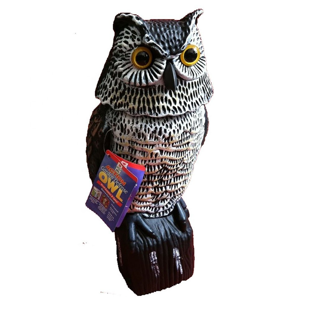 Osgoodway Hot Sale China Factory Direct Sale Home and Garden Ornaments Plastic Action Decor Owls Wholesale