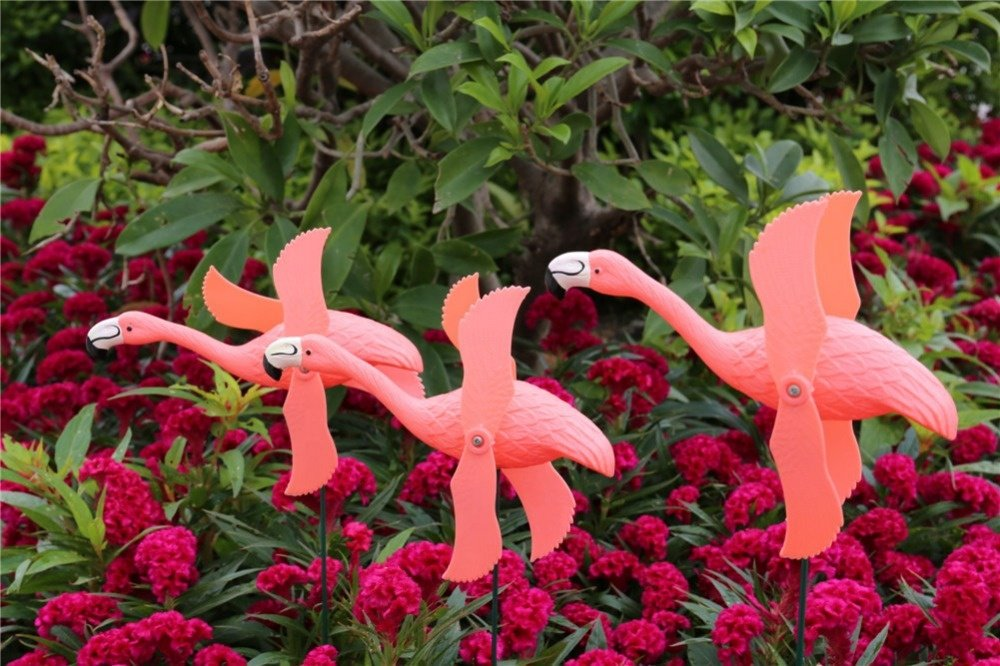 product-Osgoodway New Product Hot Sale Garden Ornaments Red Plastic flamingo From Golden supplier-Os-1